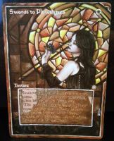 Magic Alter: Swords to Plowshares 10/27/14 by Ondal-the-Fool