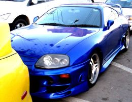 Blue Supra Turbo by toyonda