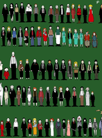Twin Peaks Characters by Sit-by-Me-and-sea