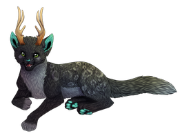 Deercat by Searii