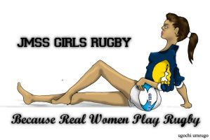 Real Women Play Rugby by ugochick