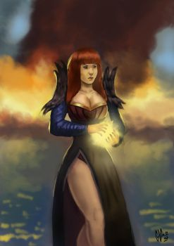 Sorceress by IcedEdge