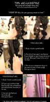 Tips Wig hair styling o/ by Yukikow