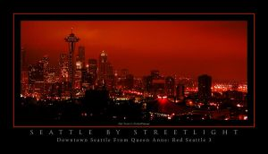 Red Seattle Series - Needle 03 by UrbanRural-Photo