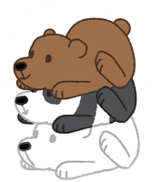 We Bare Bears by CottonCandiez