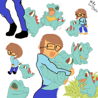 me with my pokemon! by beaiscool112