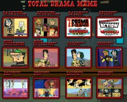 Total Drama Meme (Before TDAS) by corbinace