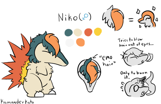 Niko Reference (Commission) by KamanderKato