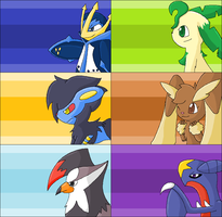 Preview: Platinum team by TwilightTheEevee