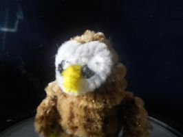 Pipe-cleaner owl by sugary-toaster