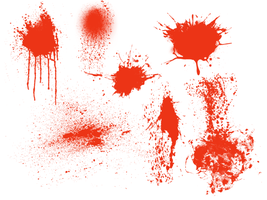 various splatter brushes by alamic-marius