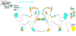 Snows new design! by snowisacatXD