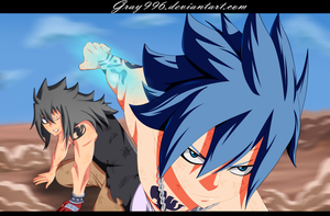The Devil Slayer to the Rescue - Fairy Tail 398 by Gray996