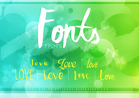 +PACK: FONTS by CAMI-CURLES-EDITIONS