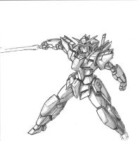 Shooting Star Gundam 2014 by Linkinpark30101