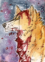 ACEO - Stand my ground by Jekkuilija