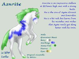 Azurite CIS by lethe-gray