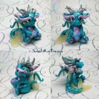 Mermaid Dragon by SweetMayDreams