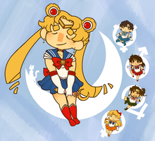 Sailor Moon by jamknight