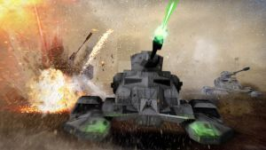 Imperial Tank Assault by unusualsuspex