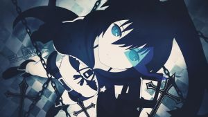 Black Rock Shooter by Deafinsanity