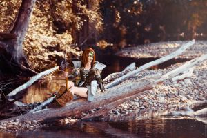 Skyrim - Aela The Huntress IV by fiathriel