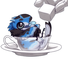 [YCH] Blake In A Cup by Alavar-Randomity
