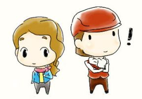Claire and Hershel SD by Gressenheller