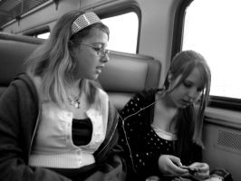 Friends On Trains by DynamicHart