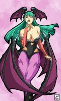 Morrigan Aensland by zavalaluiz51