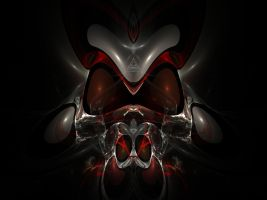 Gas Mask Fractal by Karkan