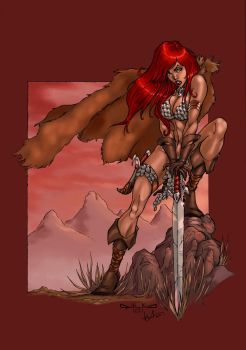 Red Sonja by Ronron84
