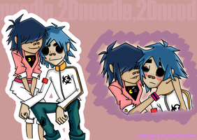 Noodle-and 2D-peach by RUKIAYUE