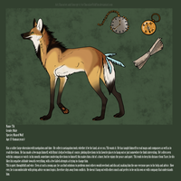 - Tik - Reference Sheet by ChocolateFishFins