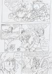 Commish: Trouble in Paradise Xone! pg41 by BlueIke