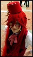 Grell likes the fez by Cosplayer-Inochi