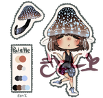 Mushroom adopt #1: Auction [OPEN] by Coffee-Kiyo