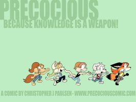 The first Precocious Wallpaper by chrispco