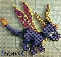 Spyro by PerlerPixie