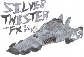 45: Silver Twister-FX by OneWingedDaemon