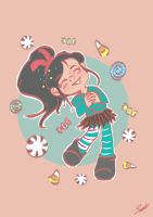 Vanellope Sugar Rush by Violet1202