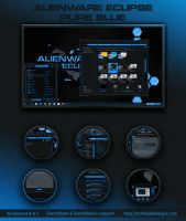 Alienware Eclipse Pure Blue Win 8 by Mr-Blade