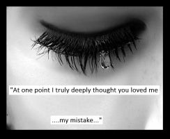 A mistake by For-our-BrokenHearts