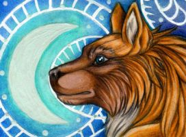 Star ACEO by Sternen-Gaukler