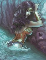 WONDER WOMAN IN LAKE_COLOR by jdavidlee1979