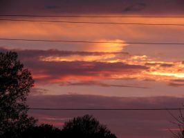 Sunset after the rain by Michies-Photographyy
