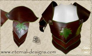 Leather armour 001 by Eternal-designs-com