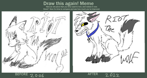 Draw this again meme by xCheshire-Rabbitx