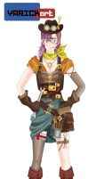 Redesign Lucca Chrono Trigger by YarickArt