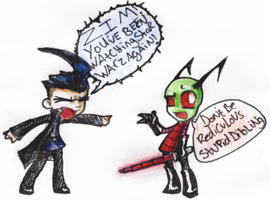 Star Warz- Episode ZIM by Chibi-Beat